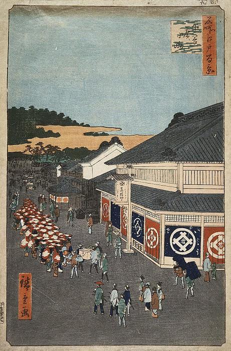 Ando Hiroshige - Sheet Street in the area Sitaya. Hermitage ~ Part 01