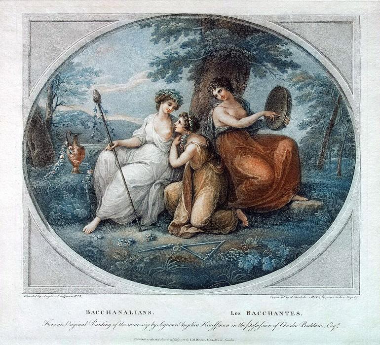 Bartolozzi Francesco - Bacchante. Hermitage ~ Part 01