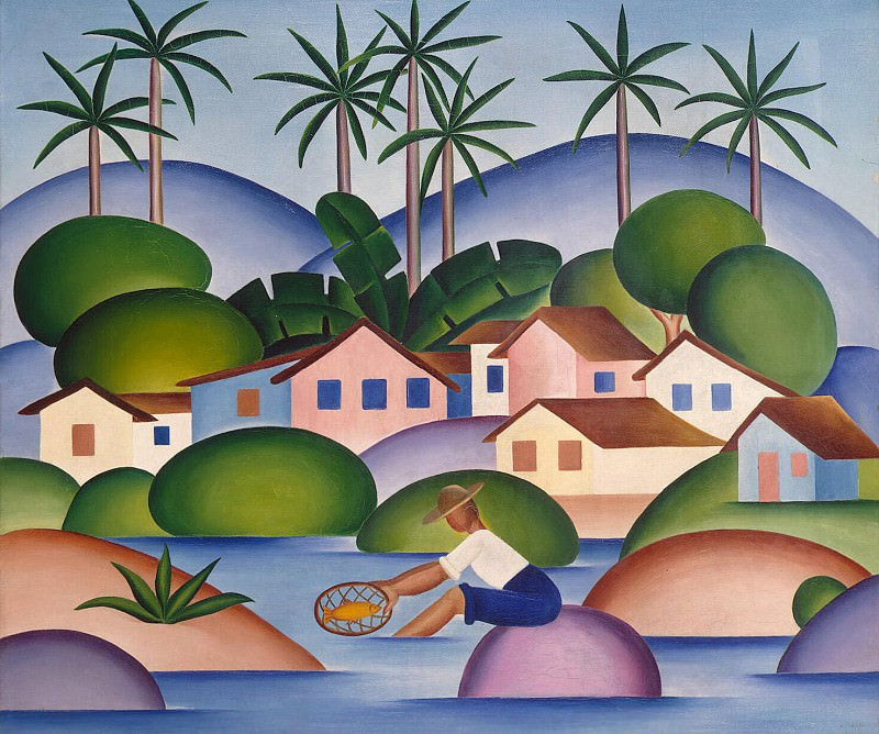 Amaral, Tarcila up - Fisherman. Hermitage ~ Part 01