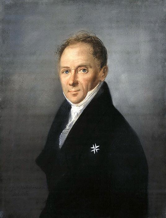 Barda, Karl Wilhelm - Portrait of a Man. Hermitage ~ Part 01