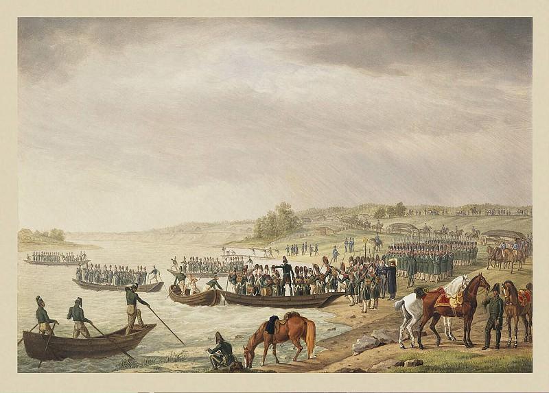 Адам, Альбрехт - Переход итальянского корпуса Евгения Богарне через Неман 30 июня 1812 г.. Эрмитаж ~ часть 1