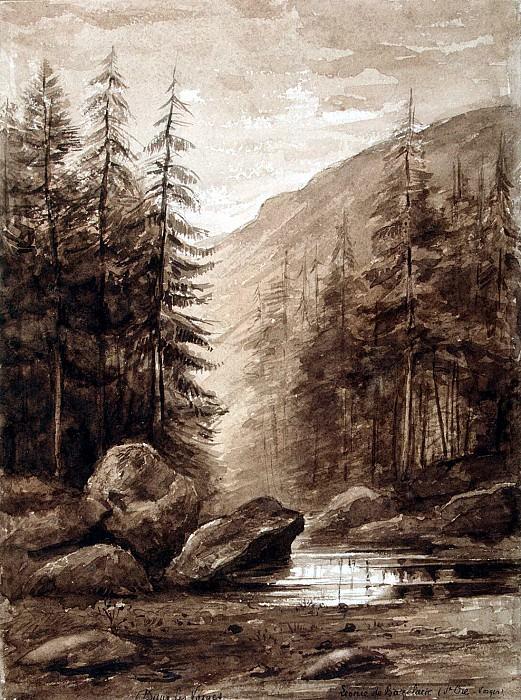 Bazeler, Leonie de - Mountain landscape in the Vosges. Hermitage ~ Part 01