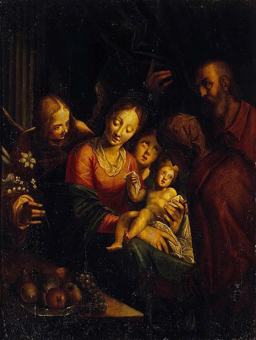 Aachen, Hans von - The Holy Family. Hermitage ~ Part 01