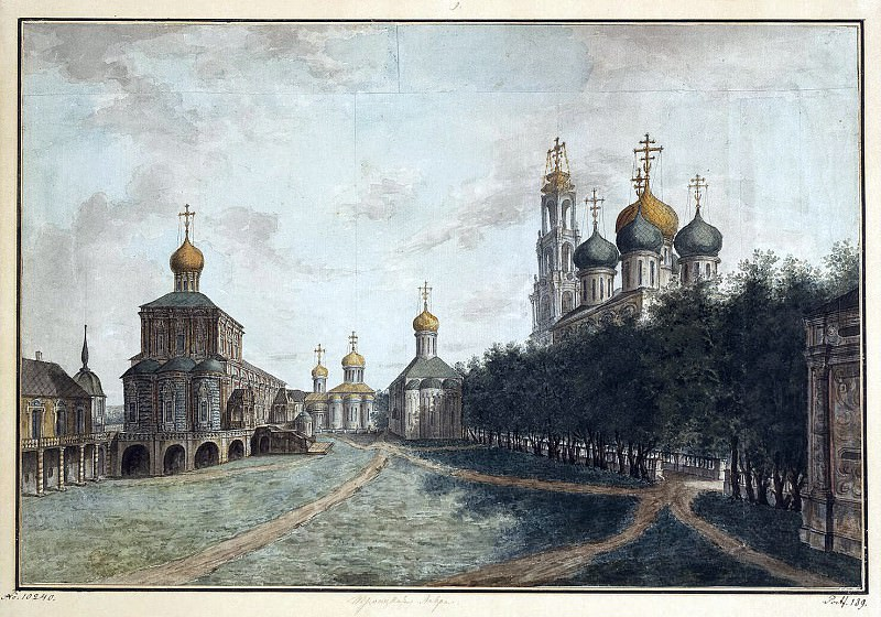 Alekseev, Fedor - Trinity-Sergius Lavra. Hermitage ~ Part 01