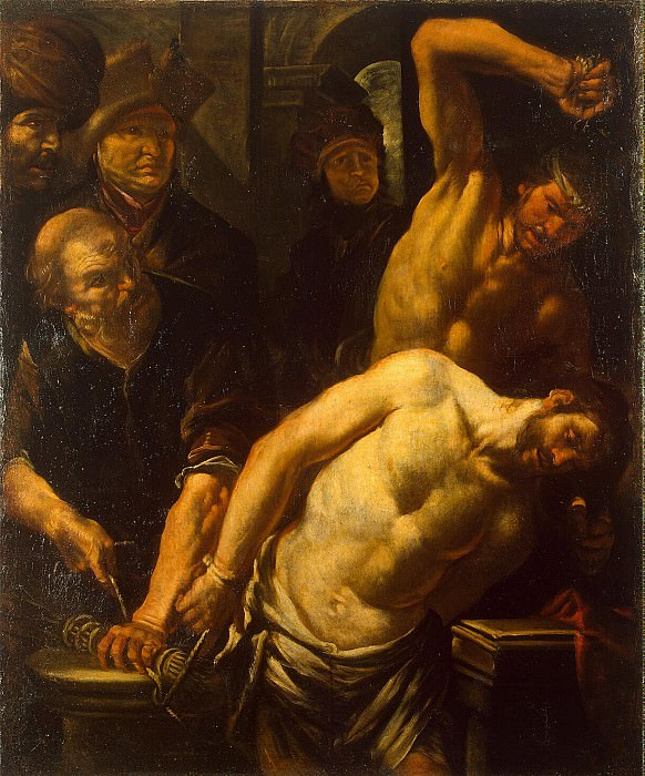 Assereto, Gioacchino - Scourging of Christ. Hermitage ~ Part 01