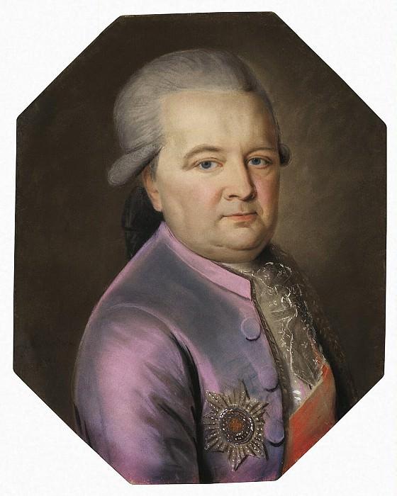 Barda, Johann - Portrait of Prince Ivan Golitsyn. Hermitage ~ Part 01