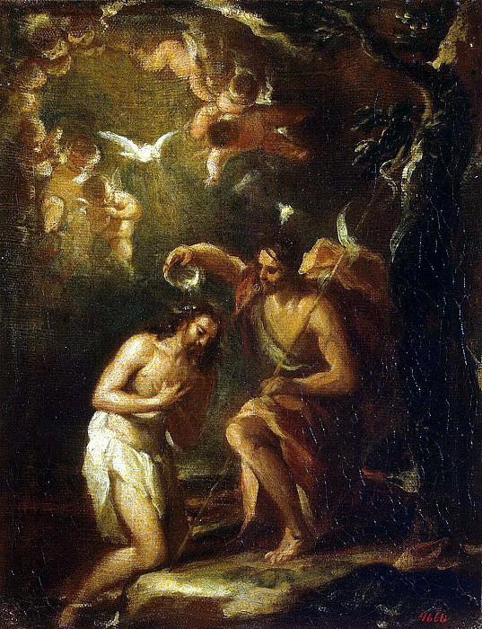 Antolines, Jose de - The Baptism of Christ. Hermitage ~ Part 01