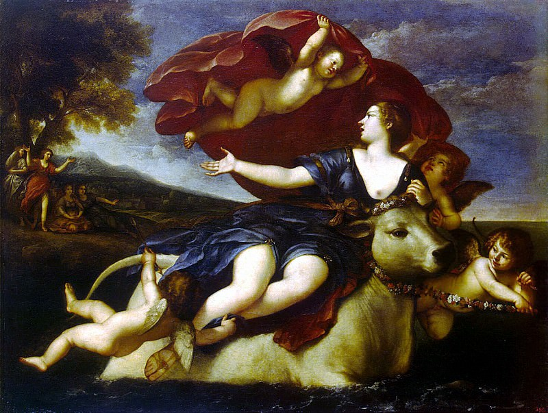 Albani, Francesco - Rape of Europe. Hermitage ~ Part 01