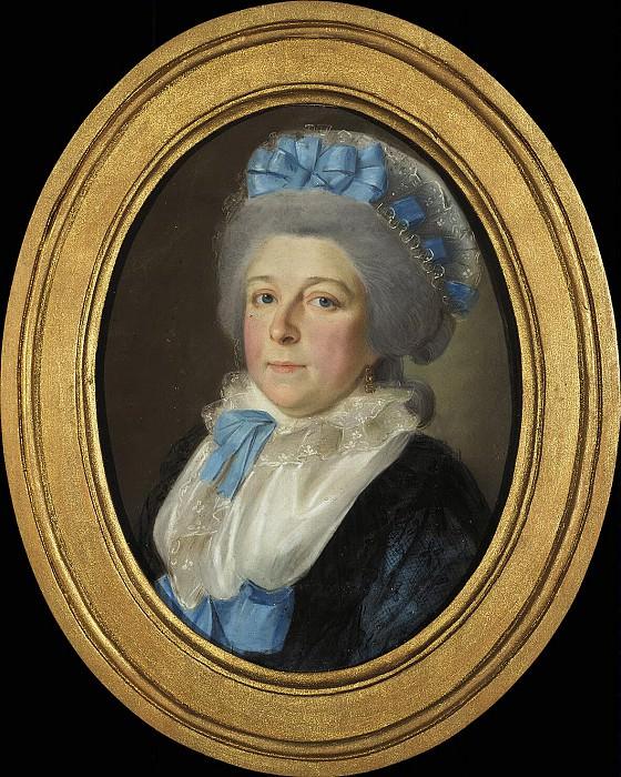 Barda, Johann - Portrait of Princess Nadezhda Ivanovna Galitzine. Hermitage ~ Part 01