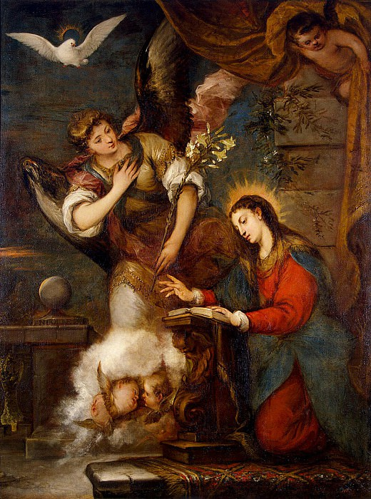 Antolines, Jose de - The Annunciation. Hermitage ~ Part 01