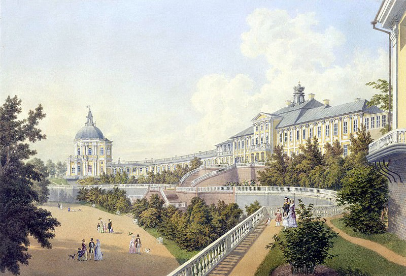 Беземан, Адольф Андреевич - Большой дворец в Ораниенбауме. Эрмитаж ~ часть 1
