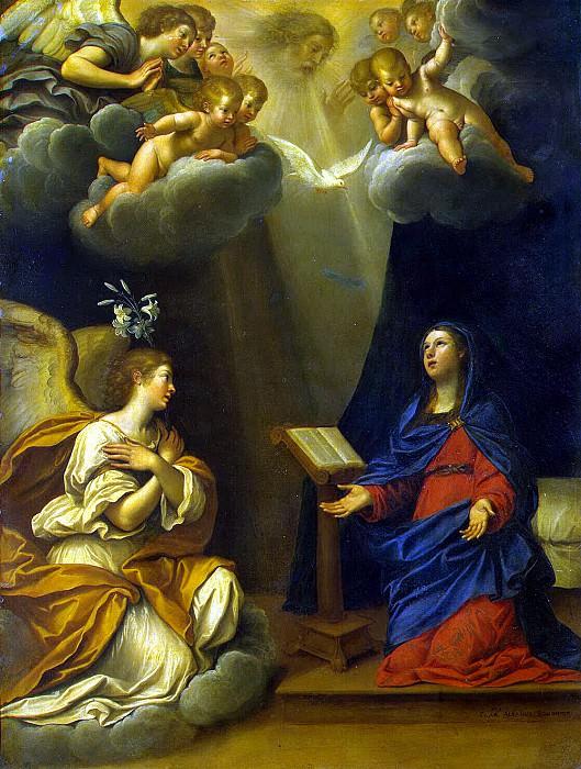 Albani, Francesco - Annunciation. Hermitage ~ Part 01
