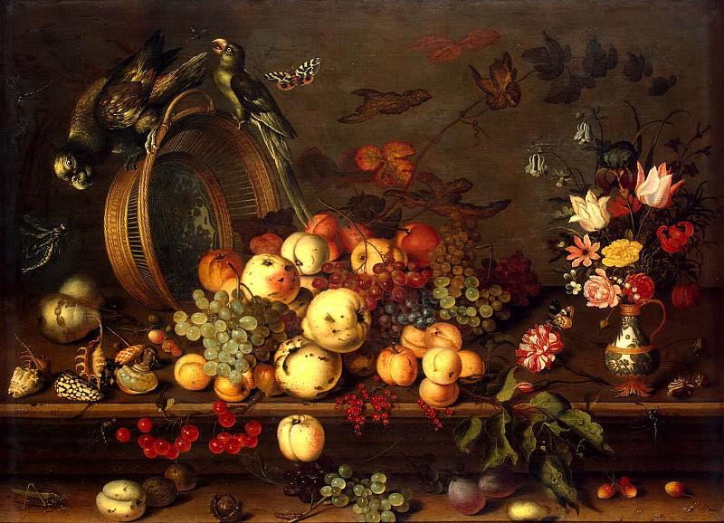 Ast, Balthasar van der - Still Life with Fruit. Hermitage ~ Part 01