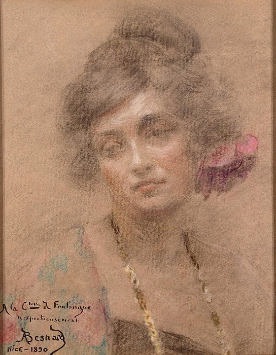 Besnard, Paul Albert - Portrait of a Woman. Hermitage ~ Part 01