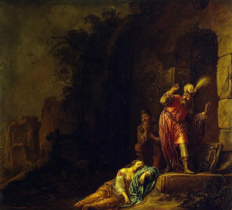 Bartsius, Willem - The death of his wife Levita. Hermitage ~ Part 01