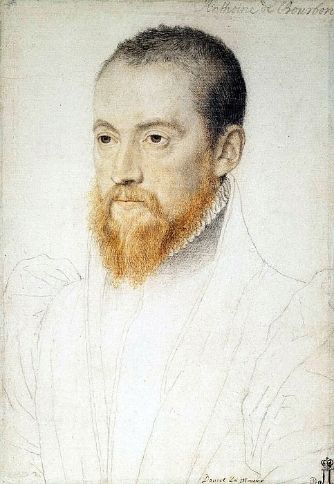 Аноним Лекюрье - Портрет мужчины с рыжей бородой. Эрмитаж ~ часть 1