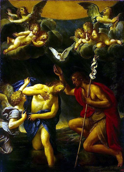 Альбани, Франческо - Крещение Христа. Эрмитаж ~ часть 1