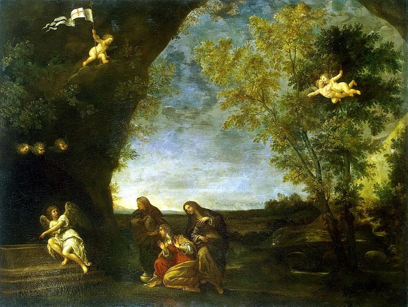 Альбани, Франческо - Святые жены у гроба Христа. Эрмитаж ~ часть 1
