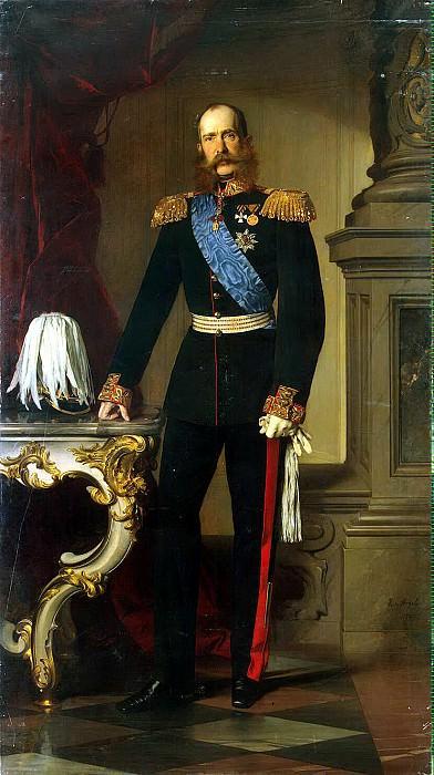 Angeli, Heinrich von - Portrait of Franz Joseph I. Hermitage ~ Part 01