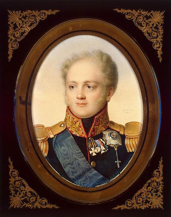 Benner, Jean Henri - Portrait of Emperor Alexander I. Hermitage ~ Part 01