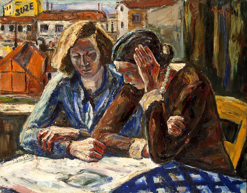 Amelin, Albin - Two Women at the window. Hermitage ~ Part 01