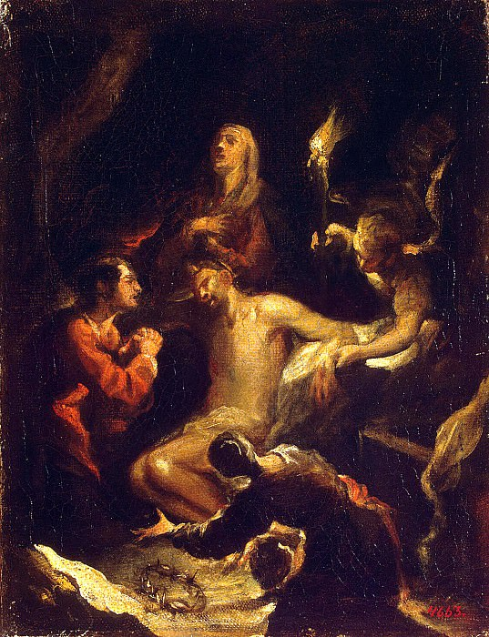 Antolines, Jose de - Descent from the Cross. Hermitage ~ Part 01