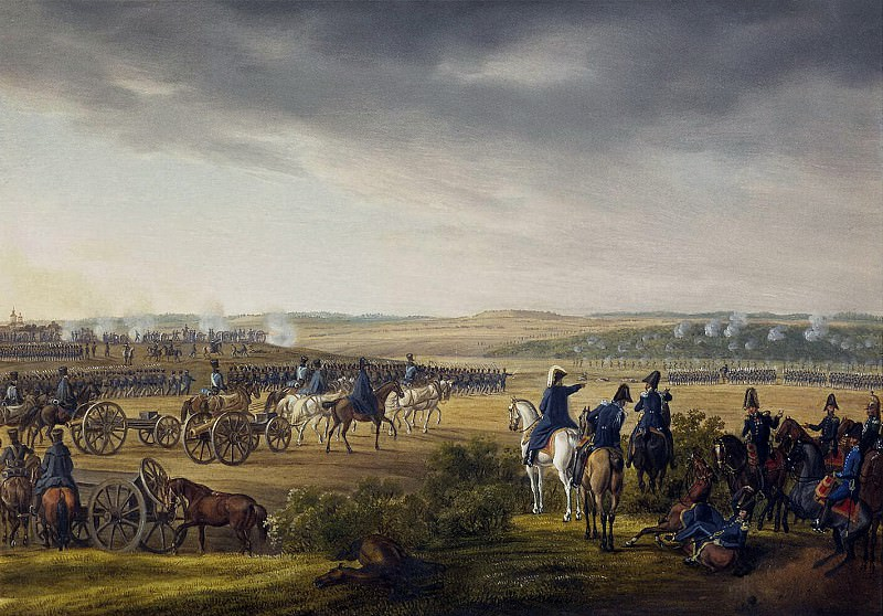 Adam Albrecht - Battle for Moscow on September 7, 1812. Hermitage ~ Part 01
