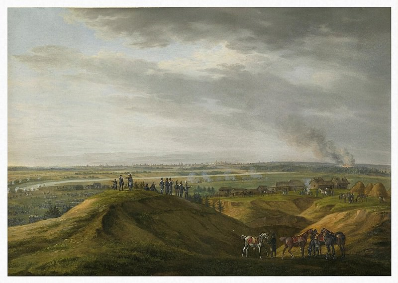 Adam Albrecht - near Moscow on Sept. 14, 1812. Hermitage ~ Part 01
