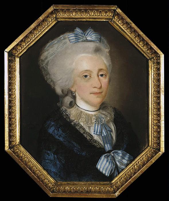 Barda, Johann - Portrait of an elderly lady. Hermitage ~ Part 01