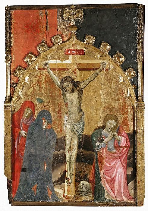 Alcaniz, Miguel de - Crucifixion. Hermitage ~ Part 01