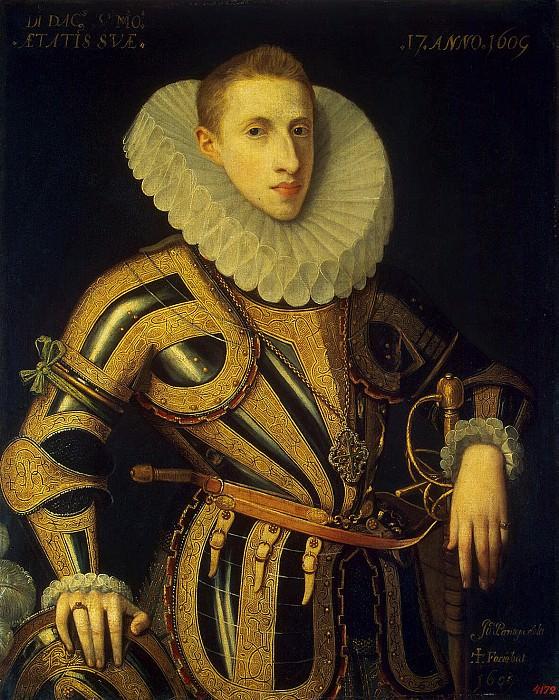 Пантоха де ла Крус, Хуан - Портрет Диего де Вильямайора. Эрмитаж ~ часть 9