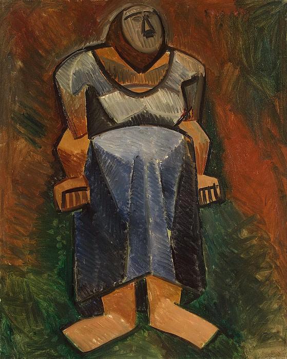 Пикассо, Пабло - Фермерша (2). Эрмитаж ~ часть 9