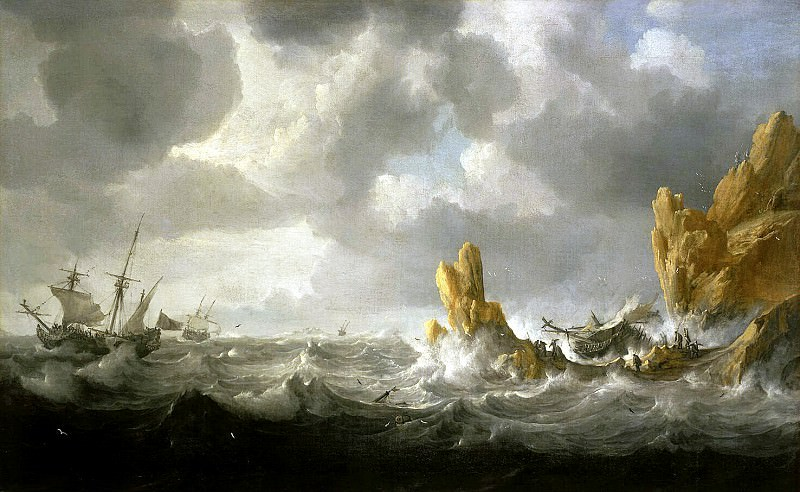 Peters, Jan - Stormy Sea. Hermitage ~ part 09