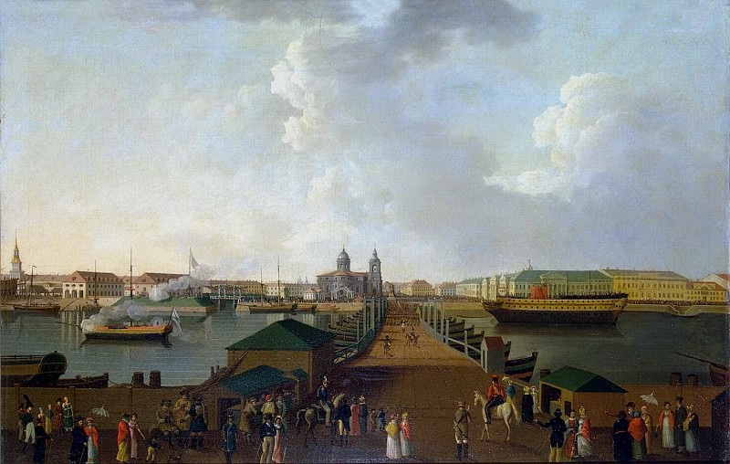Paterssen, Benjamin - View of St. Petersburg on the day of the celebration of 100 anniversary of the city. Hermitage ~ part 09