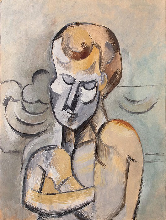Picasso, Pablo - The man with folded hands. Hermitage ~ part 09