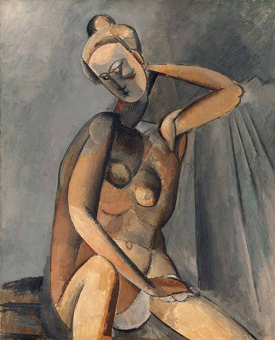 Picasso, Pablo - Naked Woman. Hermitage ~ part 09