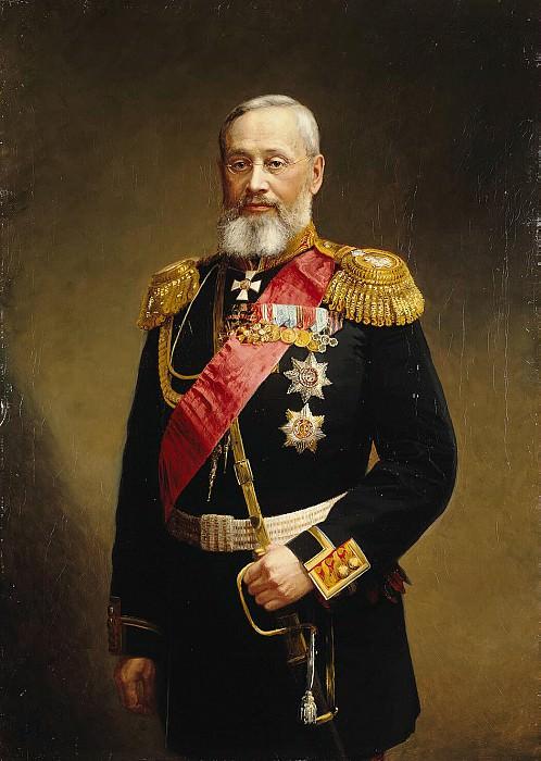 Pershakov, Aleksandr Fyodorovich - Portrait of Pyotr Semenovich Vannovskiy. Hermitage ~ part 09