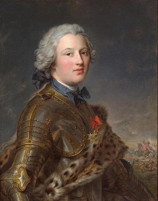 Nattier, Jean-Marc - Portrait of Pierre Victor de Beuzenwal. Hermitage ~ part 09