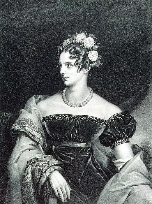 Pogonkin, Vladimir Ivanovich - Portrait of Empress Alexandra Feodorovna. Hermitage ~ part 09