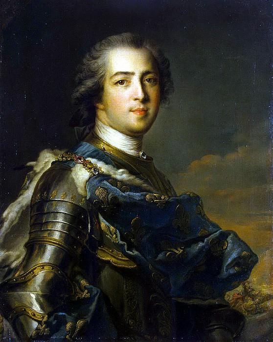 Nattier, Jean-Marc - Portrait of Louis XV. Hermitage ~ part 09