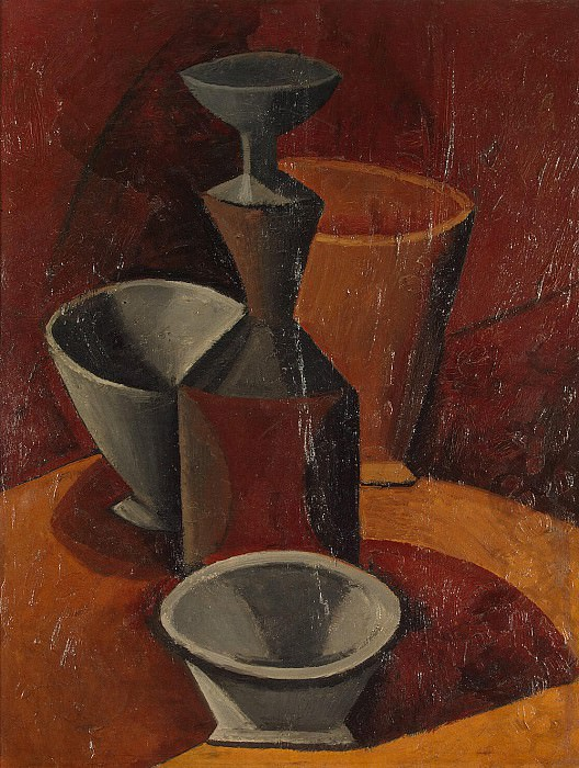 Picasso, Pablo - Beadon and bowls. Hermitage ~ part 09