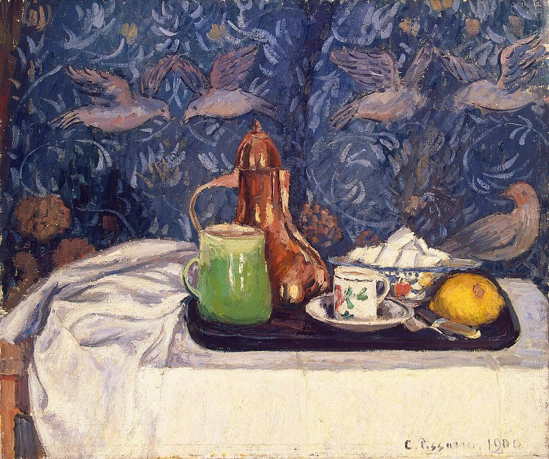 Pissarro, Camille - Still Life With Coffeepot. Hermitage ~ part 09