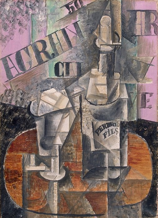 Picasso, Pablo - The table in the cafe. Hermitage ~ part 09