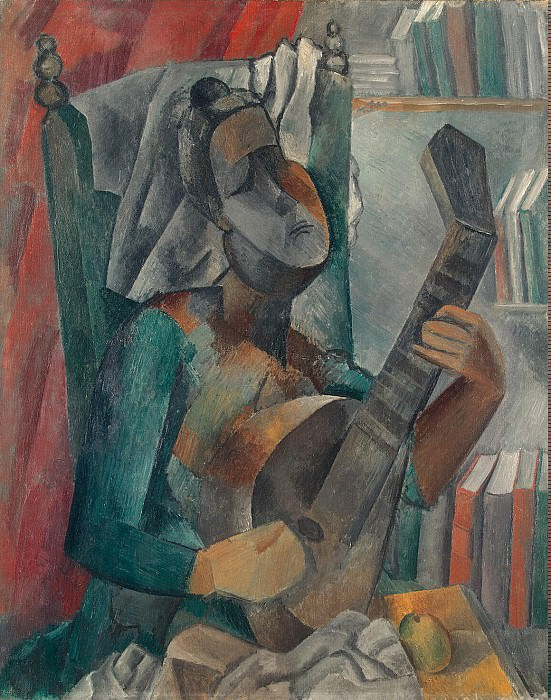 Picasso, Pablo - Woman with a Mandolin. Hermitage ~ part 09