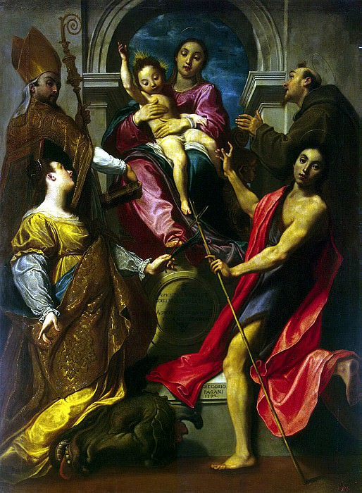 Pagani, Gregorio - Madonna and Child. Hermitage ~ part 09