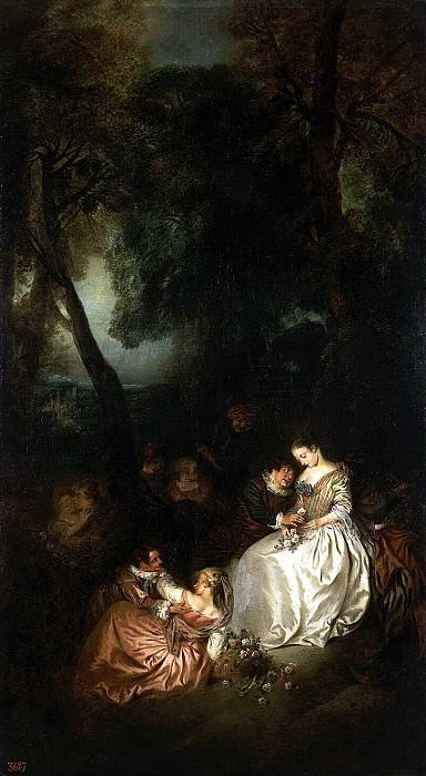 Pater Jean-Baptiste - Scene in the park. Hermitage ~ part 09