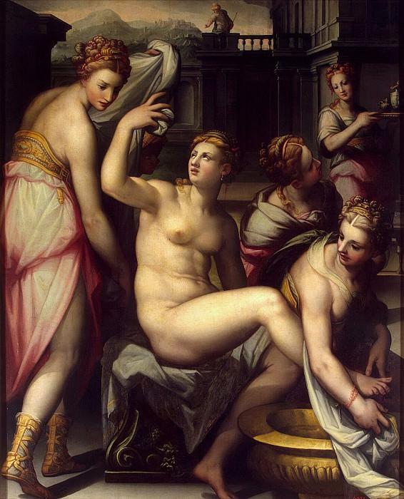 Naldini, Giovanni Battista - Beersheba in the pool. Hermitage ~ part 09