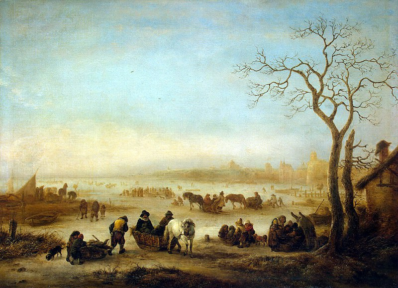 Ostade, Isaac van - Frozen Lake. Hermitage ~ part 09