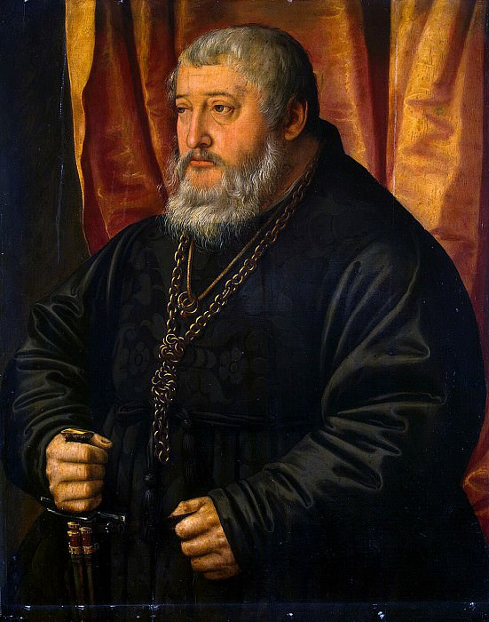 Pentz, Georg - Portrait of Palatine Ottgenriha Palatine. Hermitage ~ part 09