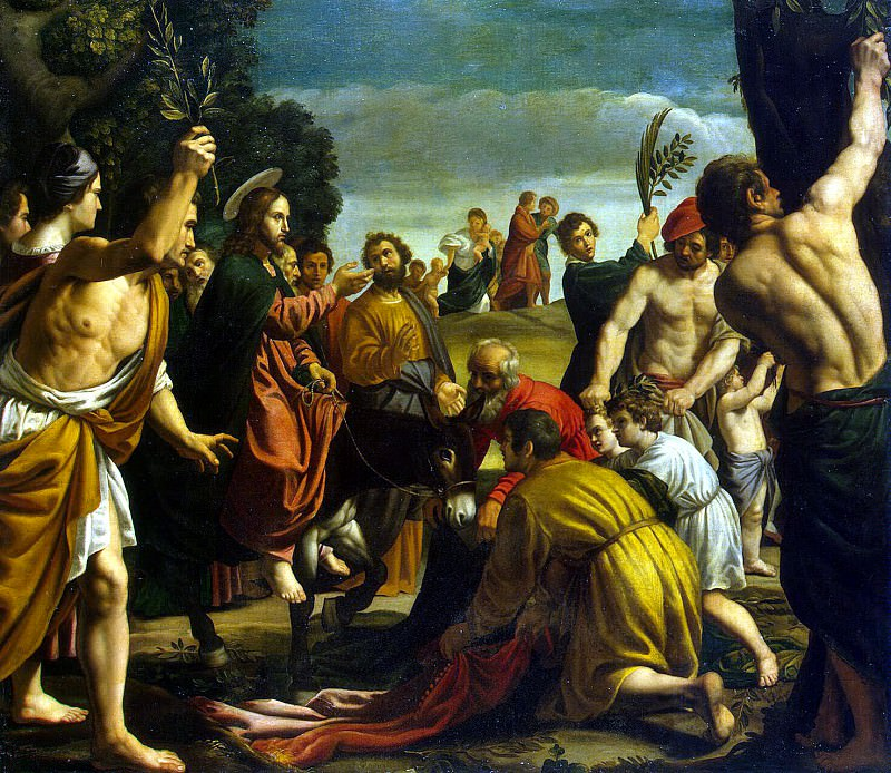 Orrente, Pedro - Entry of Christ into Jerusalem. Hermitage ~ part 09